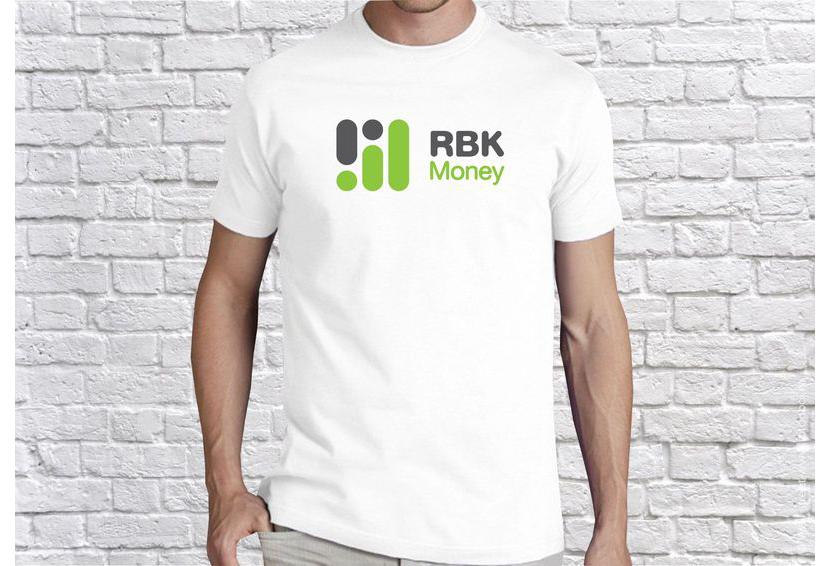 Картинка с белой футболкой с логотипом компании на груди