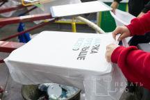 Белые хлопковые футболки с надписями «Маржа превыше всего», «FINANCE TEAM 2019»