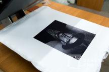 Белая футболка с фото поэта В. Маяковского