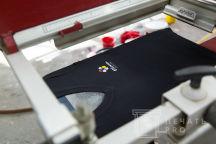 Черные футболки с логотипом «bloom»