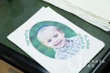Белые сумки с детскими цветными фотографиями