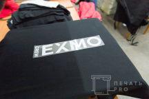 Футболки с надписью «EXMO crew»