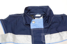 Синие с серыми вставками куртки с логотипом «СПЕКТР»