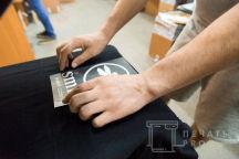 Черные футболки с логотипом «Smile»