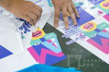 Белые сумки с изображением «AMLAP 2019»