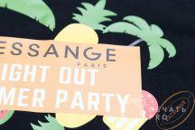 Черные футболки с изображением «DESSANGE»