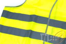 Желтые сигнальные жилеты с логотипом «Медицинские Технологии»