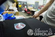 Ростовая футболка с логотипом «М.»