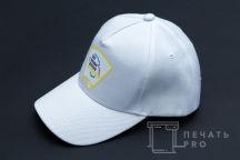 Белые бейсболки с логотипом «СОВЕТ МОЛОДЫХ ДЕПУТАТОВ»