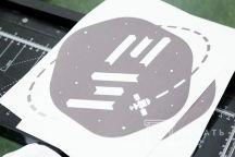 Футболка с логотипом «EW»