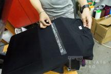Черные хлопковые футболки с надпись «Сними с меня Ответственность»