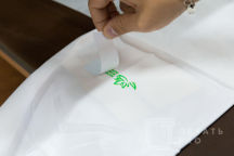 Белые поварские кители с лого «Восточный экономический форум»