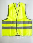 Сигнальные жилеты с логотипом «ТЕХНОСТРОЙ»