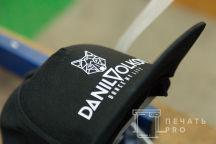 Черные бейсболки с логотипом «DANIL VOLKOV»