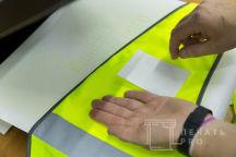 Желтые сигнальные жилеты с надписью «РЕГИОН»