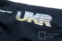 Черные плавки с логотипом «UKR»