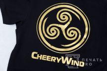 Футболки-поло с логотипом «CHERRY WIND»