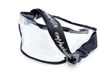 Белые поясные сумки с надписью «#LiPlayMyVoice»