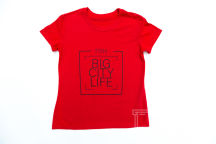 Красные футболки с текстом «Аниматор»