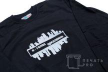 Черные свитшоты с логотипом «Я ГОЛОС ПОКОЛЕНИЯ»