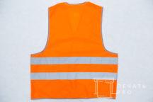 Сигнальные жилеты с логотипом «МОГИКАН»