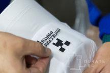 Белые бейсболки с логотипом «MINECRAFT»