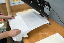 Белые футболки с фотографией Ильи Огурцова