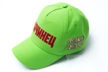 Зеленые бейсболки с текстом «Качинец»
