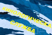 Многоцветные футболки с текстом «Кинологическая служба»