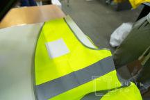 Желтые сигнальные жилеты с логотипом «ВМиК»