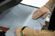 Печать светоотражающей надписи