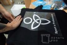 Черные свитшоты с логотипом «SPORT'S PROFESSIONAL»
