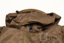 Рабочие куртки цвета хаки с логотипом «ЭЛЕМЕНТ»
