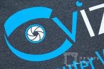 Черные футболки с логотипом «Civizi»