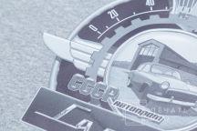 Серая толстовка с логотипом «Гараж»