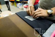 Черные брюки с логотипом «Фуэте»