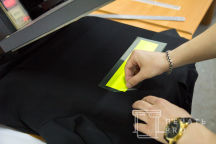 Печать надписи