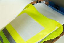 Желтые сигнальные жилеты с логотипом «МЭТР»