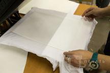 Белая футболка с картинкой «Твин пикс»