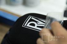 Черные бейсболки с логотипом «ROMAN VERBOVSIY»