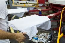 Белые футболки с логотипом «TOYOTA»
