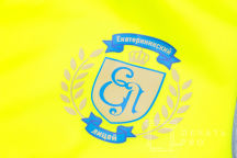 Желтые сигнальные жилеты с логотипом «Екатерининский лицей»