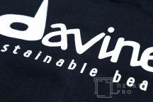 Черные футболки с логотипом «Davines»