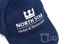 Бейсболки с логотипом «NORTH STAR»