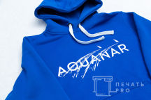 Толстовки с логотипом «AQUANAR»