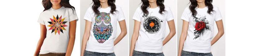 Фото футболок с яркими принтами