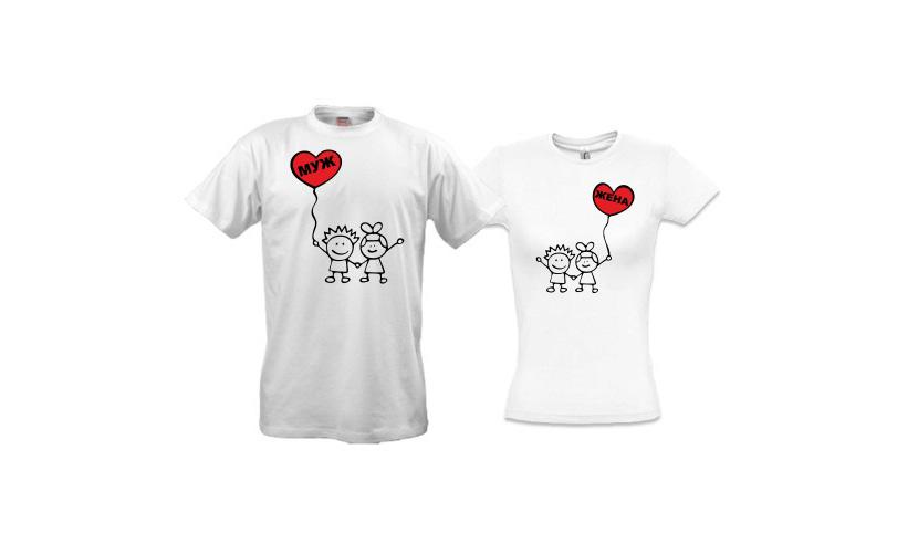 Фото футболок для молодоженов с прикольной надписью